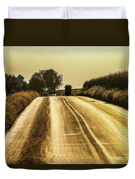 Buggy At Golden Hour Duvet Cover
