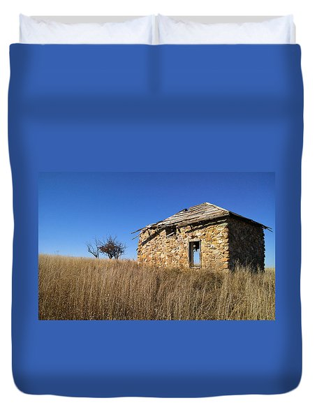 Duvet Cover featuring the photograph Built To Last by Carl Young