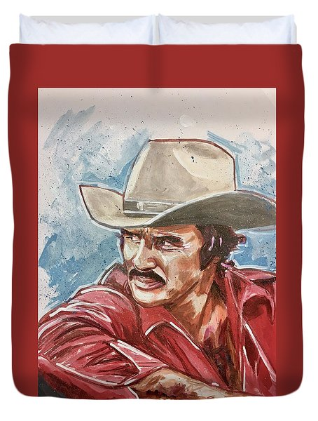 Burt Reynolds Duvet Cover