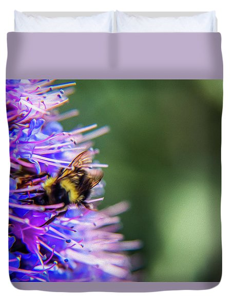 Busy Bee 2 Duvet Cover