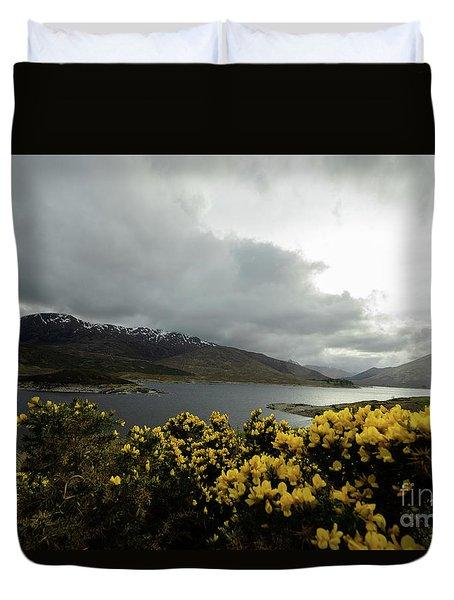 Buttercream Solitude Duvet Cover