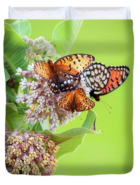 Butterfly Buffet II Duvet Cover