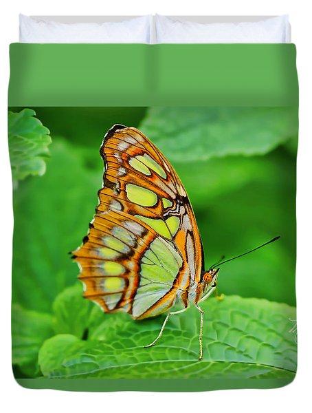 Butterfly Leaf Duvet Cover