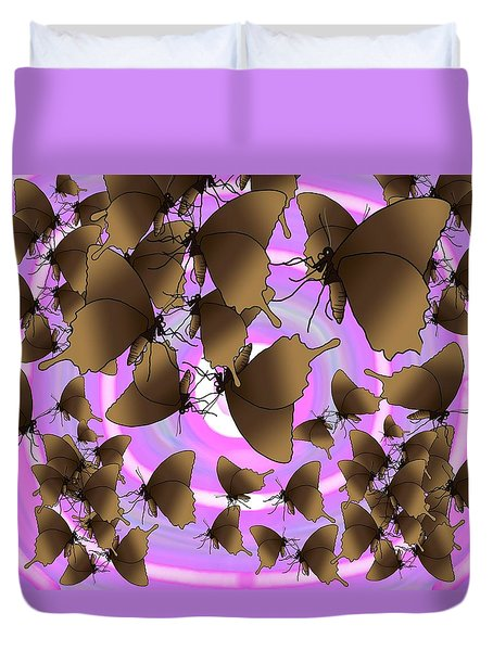 Butterfly Patterns 10 Duvet Cover