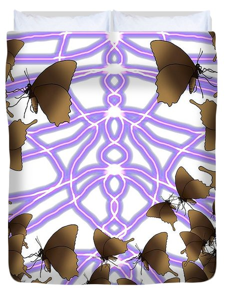 Butterfly Patterns 14 Duvet Cover