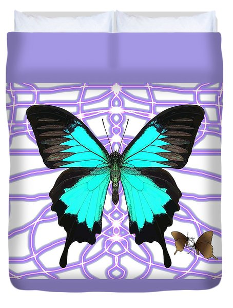 Butterfly Patterns 18 Duvet Cover