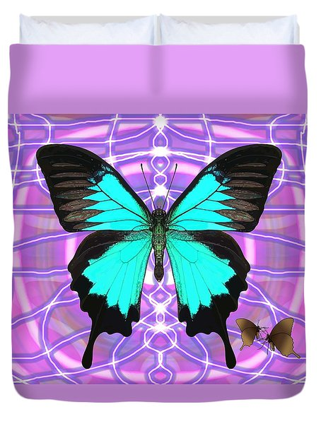 Butterfly Patterns 19 Duvet Cover