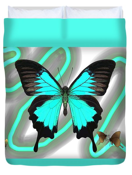Butterfly Patterns 23 Duvet Cover