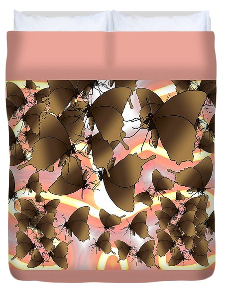 Butterfly Patterns 8 Duvet Cover