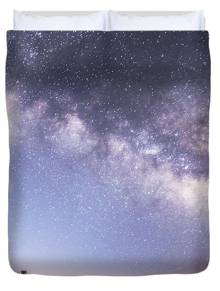 By Dawn's Early Light Duvet Cover