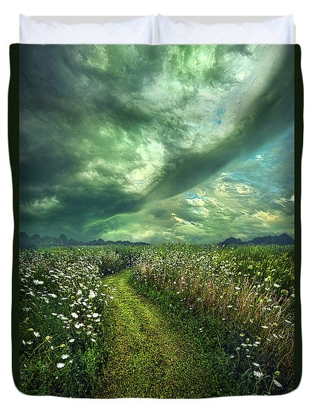 Duvet Cover featuring the photograph By The By by Phil Koch