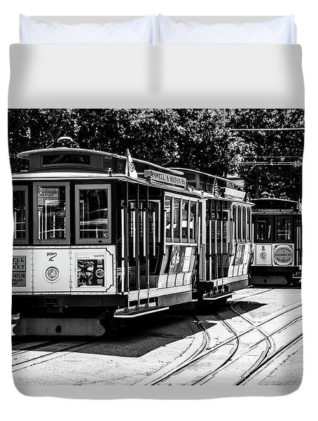 Cable Cars Duvet Cover
