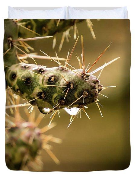 Cactus Detail Duvet Cover