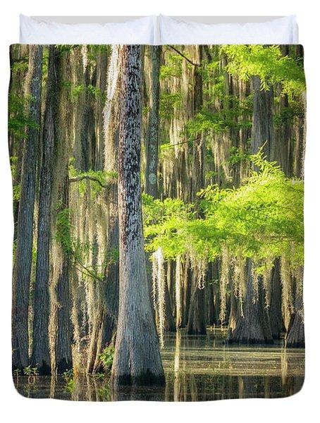 Caddo Swamp 1 Duvet Cover