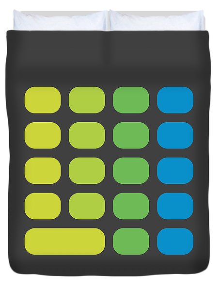 Calculator Duvet Cover