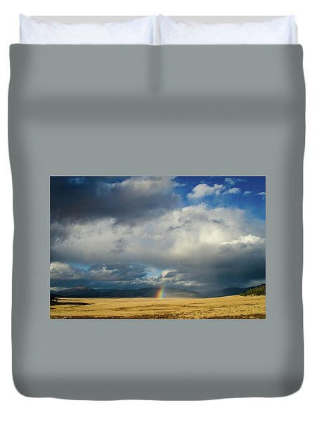 Caldera Rainbow Duvet Cover