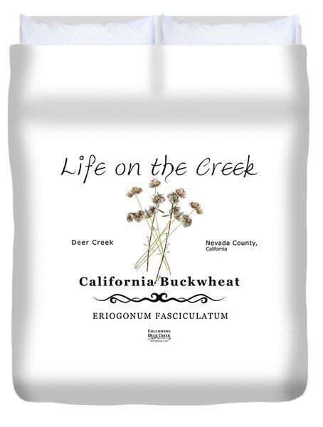 California Buckwheat Duvet Cover