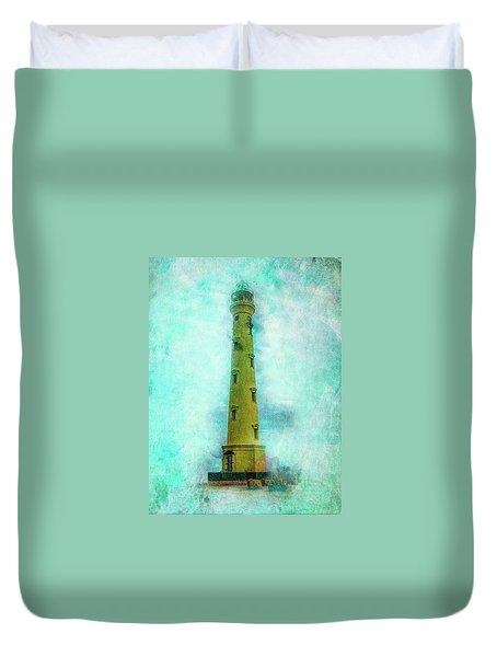 California Lighthouse Aruba Duvet Cover