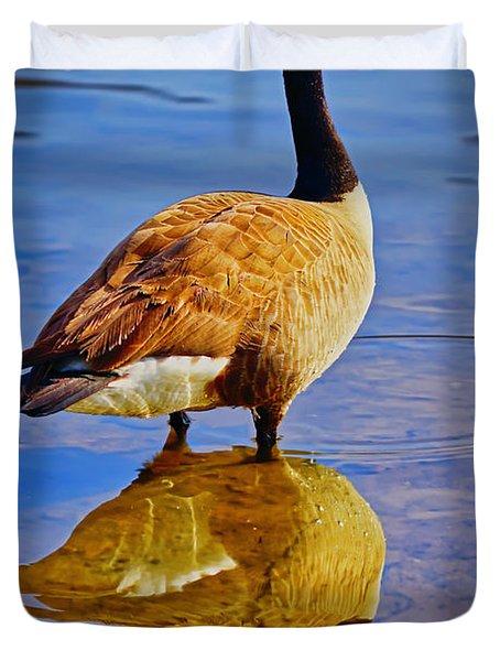 Canadian Goose Duvet Cover