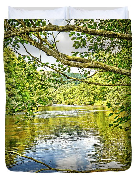 Canal Pool Duvet Cover