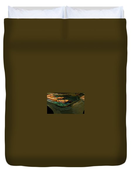 Canary Seaweed Duvet Cover