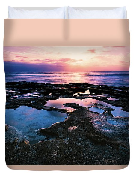 Candy Colored Pools Duvet Cover