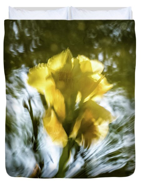 Canna Lily 3 Duvet Cover