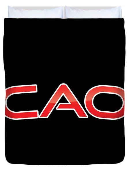 Cao Duvet Cover
