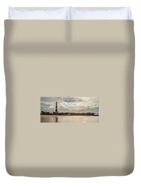 Cape Lookout Lighthouse No. 3 Duvet Cover