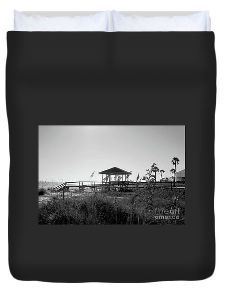 Cape San Blas Duvet Cover