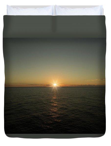 Caribbean Sunset Duvet Cover