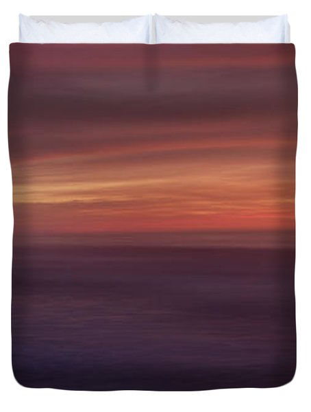 Carmel By The Sea Beach Duvet Cover