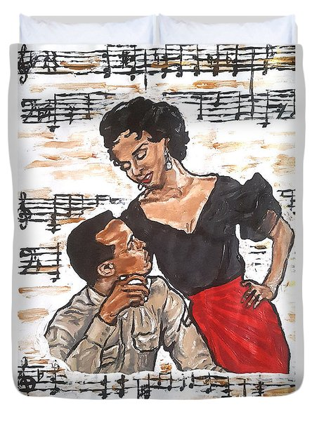 Carmen Jones - That's Love Duvet Cover