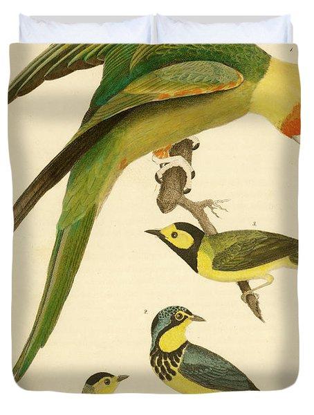 Carolina Parrot Duvet Cover