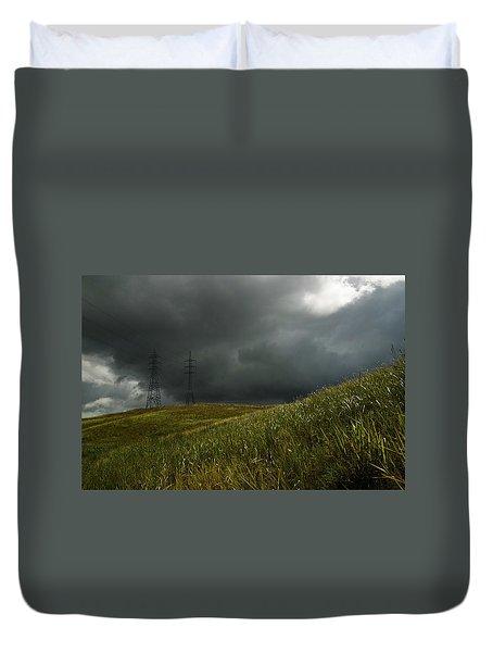 Caroni Grasslands Duvet Cover