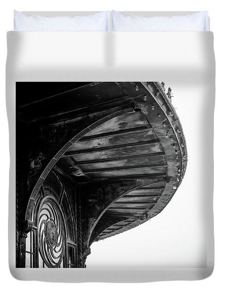 Carousel House Detail Duvet Cover
