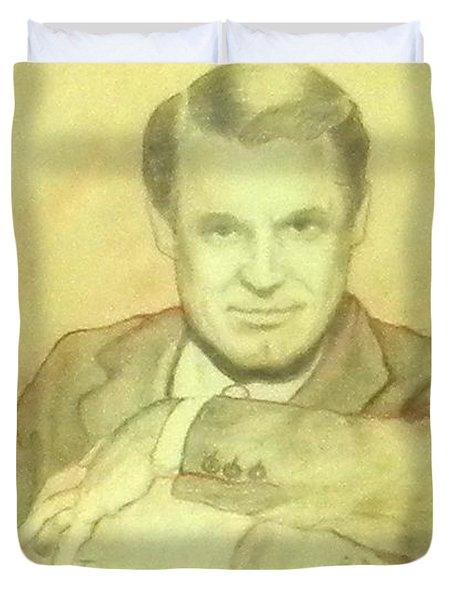Cary Grant Duvet Cover