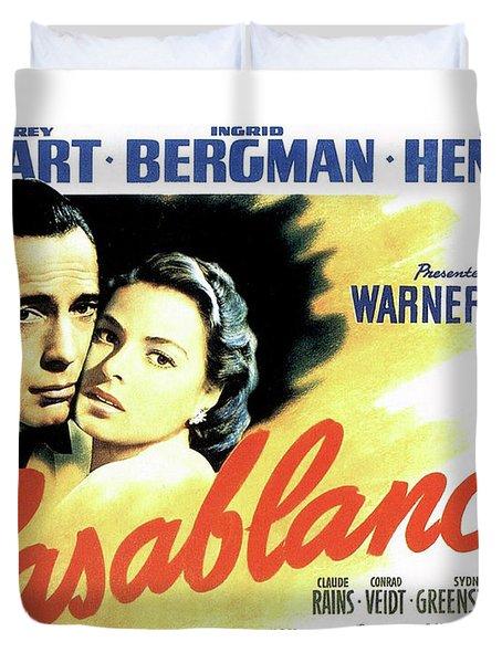 Casablanca Duvet Cover