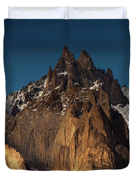 Cathedral Of Passu Duvet Cover
