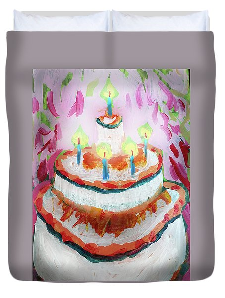 Celebration Cake Duvet Cover