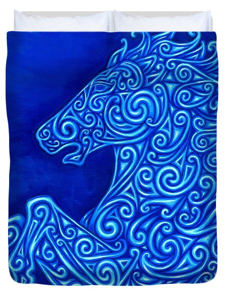 Celtic Horse Duvet Cover