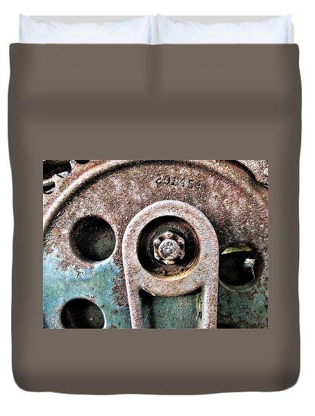 Chain Gear Duvet Cover