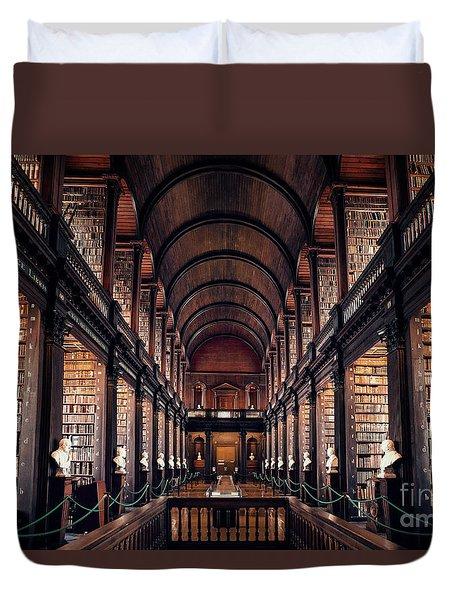 Chamber Of Eternal Wisdom Duvet Cover