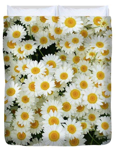 Chamomile Flowers Pattern Duvet Cover