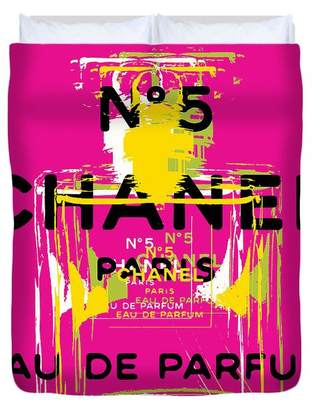 Chanel No 5 Pop Art - #3 Duvet Cover
