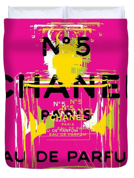 Chanel No 5 Pop Art - #3 Duvet Cover