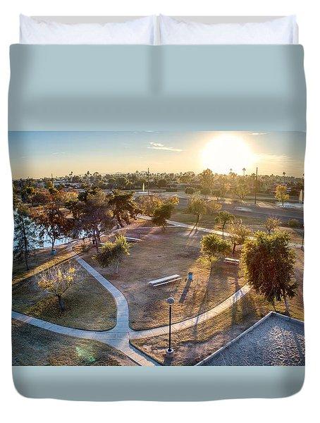 Chaparral Park Duvet Cover