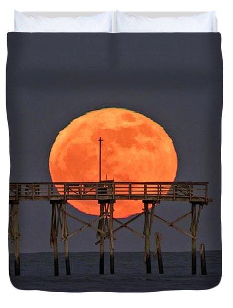 Cheddar Moon Duvet Cover