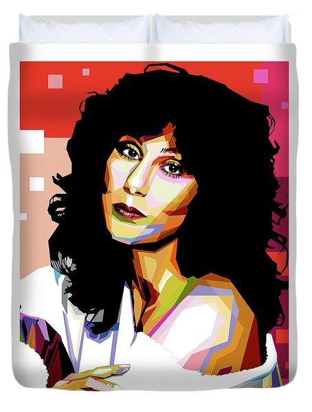 Cher Duvet Cover