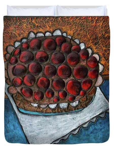 Cherry Pie Duvet Cover